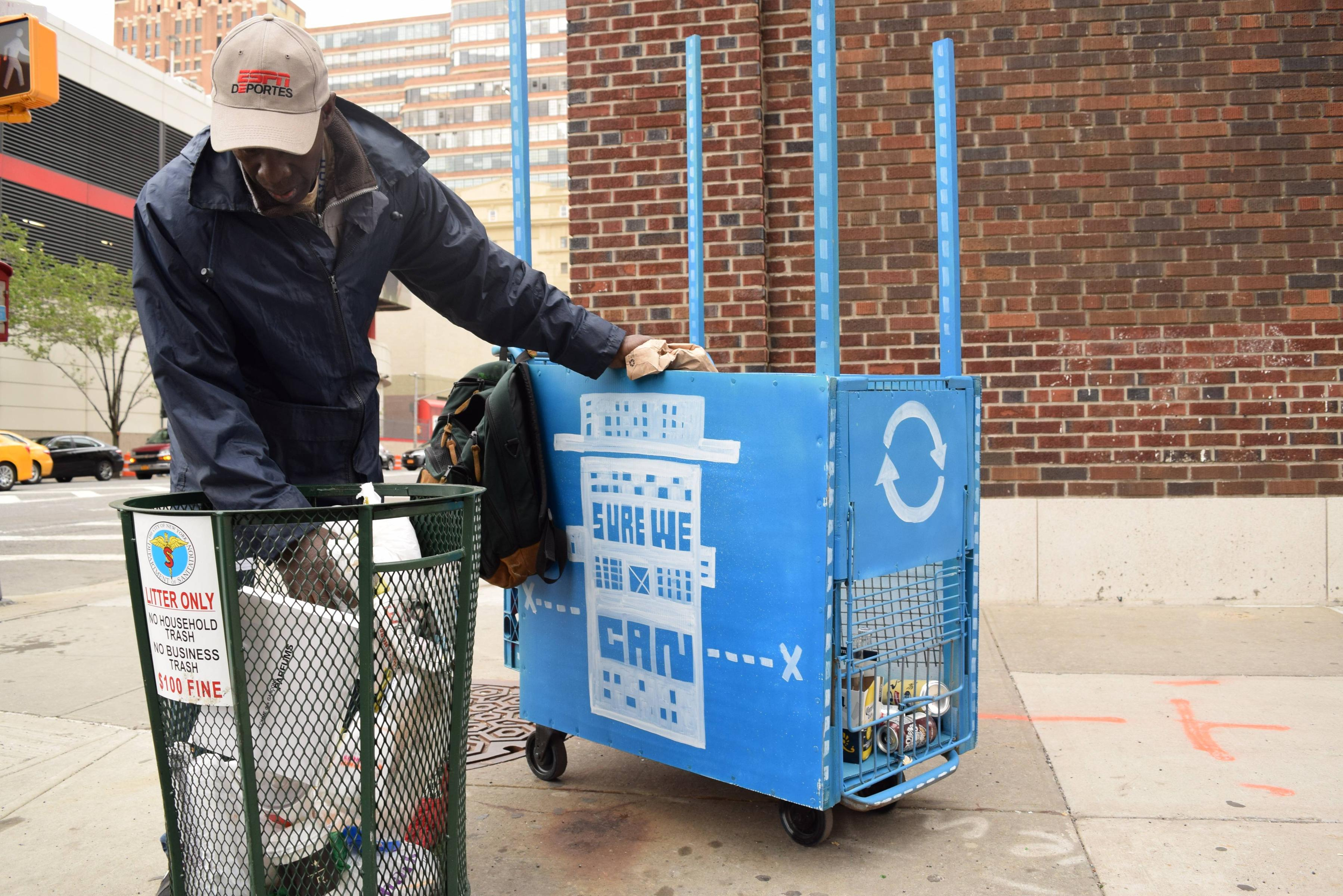 MAPPING WASTE PICKERS IN NEW YORK CITY